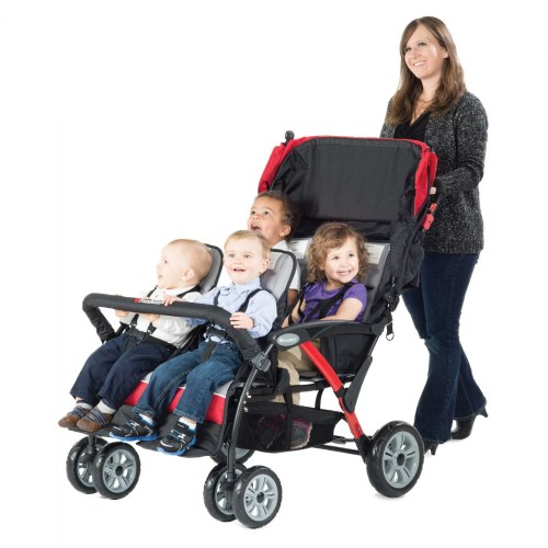 Alternate Image #5 of Quad Sport™ 4-Passenger Strollers