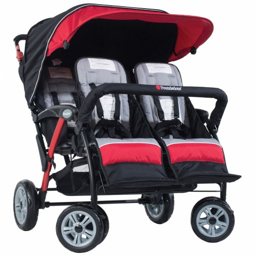 Alternate Image #4 of Quad Sport™ 4-Passenger Strollers