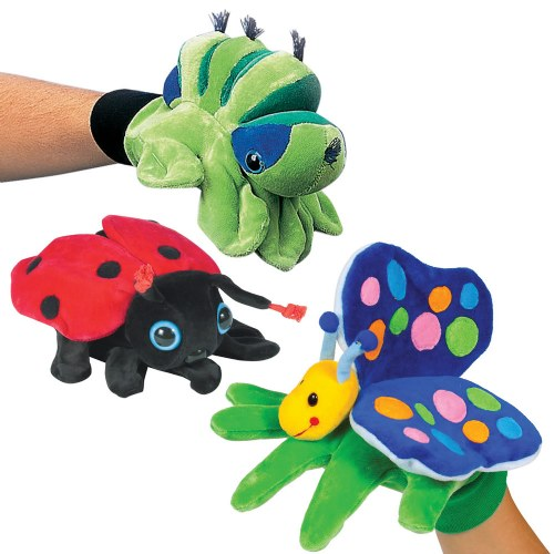 Bug Glove Puppet Set (Set of 3)
