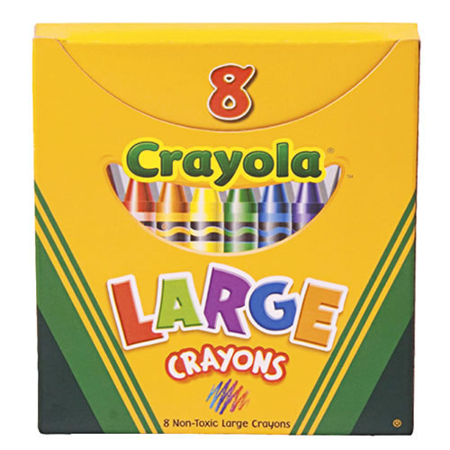 Large 8-Count Crayola® Crayons