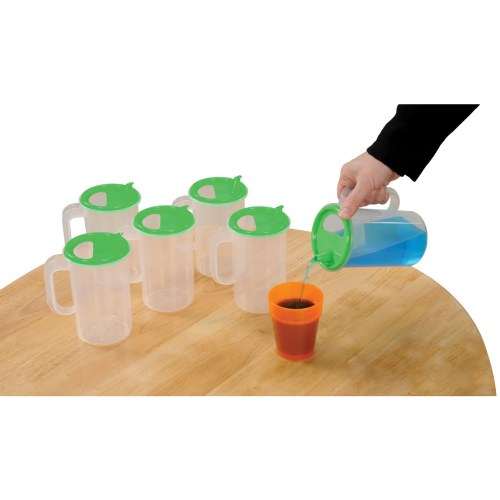 Easy Pour Pitchers - Set of 6