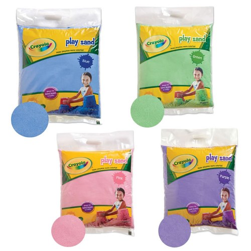 Crayola® Colored Play Sand 20 pound bags