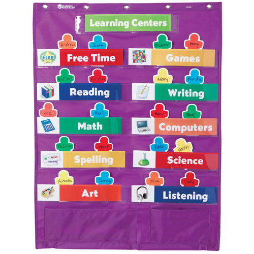 Kaplan Classroom Design : Early learning centers pocket chart