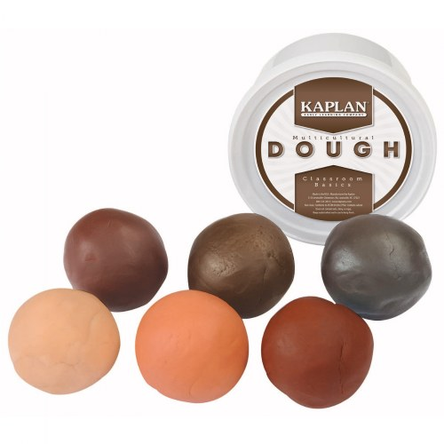Multicultural Dough - Set of Six 1lb. Tubs