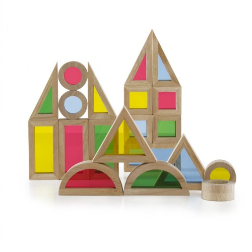 Jr. Rainbow Blocks® - Set of 40 Pieces