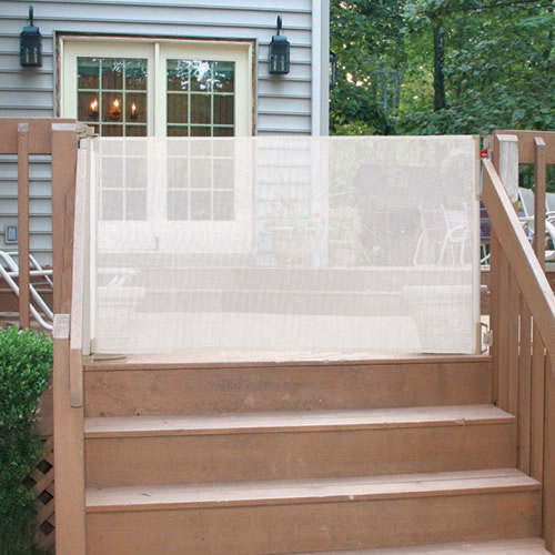 Alternate Image #1 of Indoor Outdoor Retractable Gate
