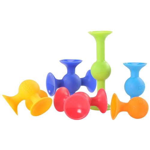 Alternate Image #2 of Squigz™ Deluxe Set- 50 Pieces
