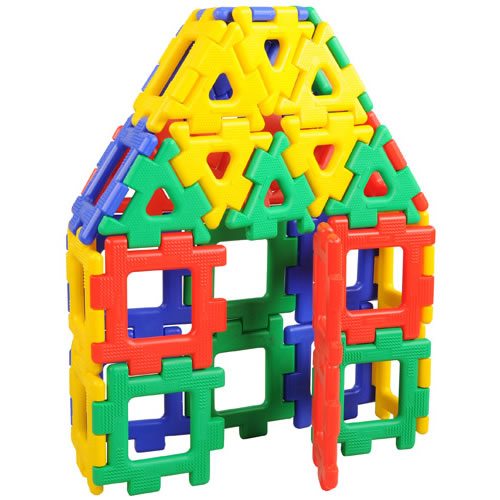 Giant Polydron Set (40 Piece Set)