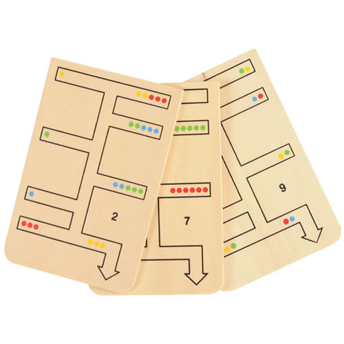 Alternate Image #2 of Wooden Logic and Stem Pattern Path Finder
