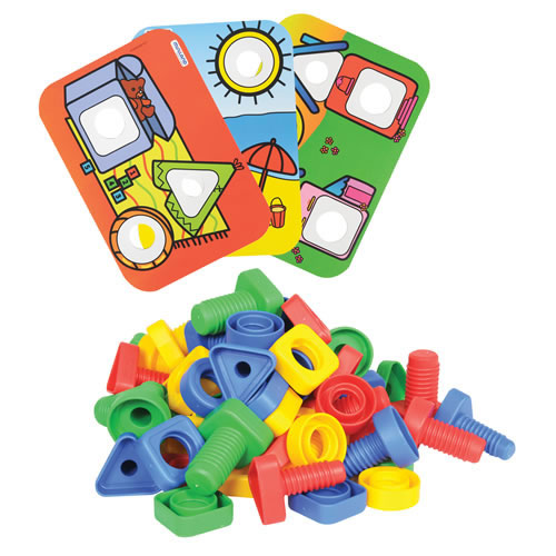Nuts, Bolts and Pattern Cards Class Set