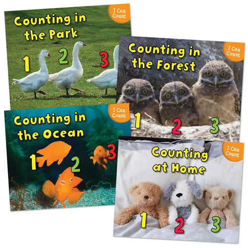 I Can Count Books - Set of 4