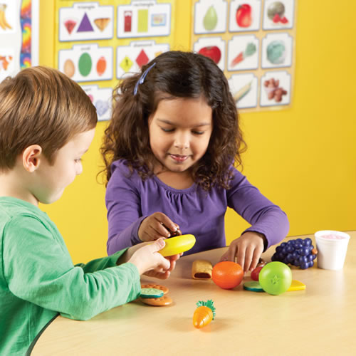 Alternate Image #2 of New Sprouts® Healthy Snack Play Food Set