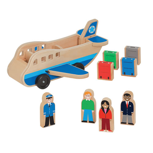 Airplane & Luggage Set