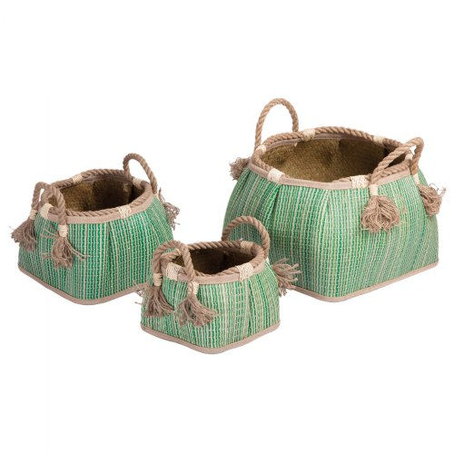 Sense of Place Woven Baskets - Set of 3