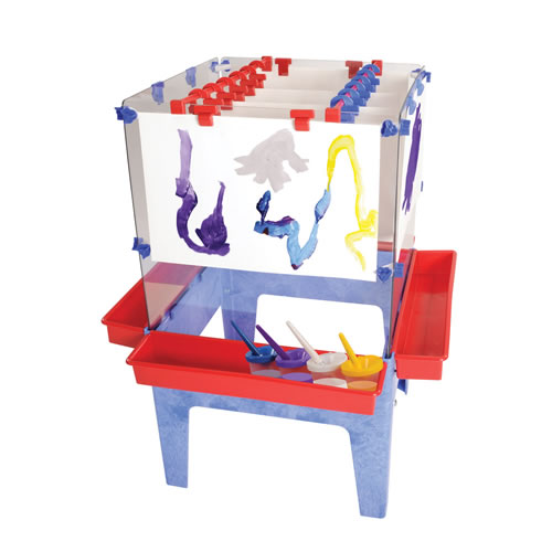 Toddler 4-Station Space Saver Easel