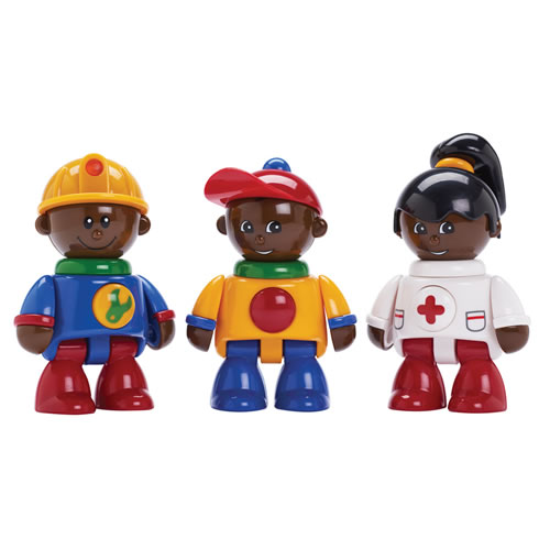 TOLO® First Friends - African American (Set of 3)