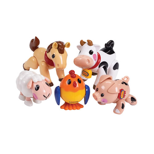 TOLO® First Friends Farm Animals - Set of 5