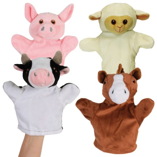 My First Farm Animals Puppet Set (Set of 4)