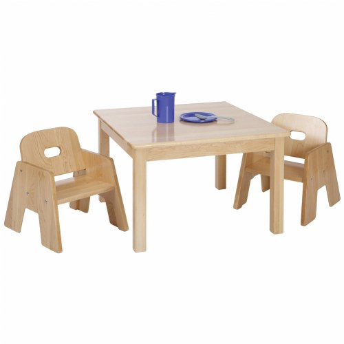 Premium Solid Maple Toddler Table Chair Set
