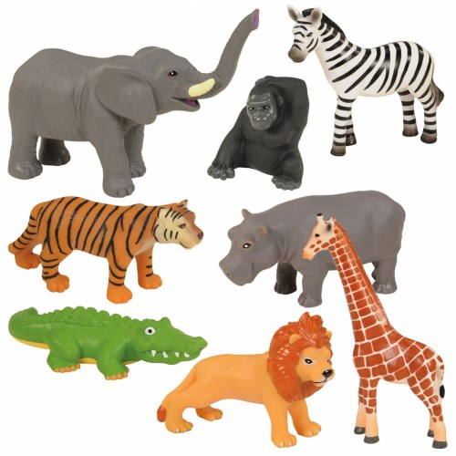 Wild Animals - Set of 8