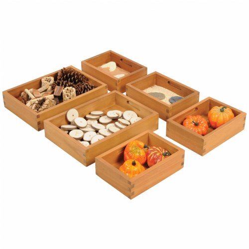 Outdoor Sorting Boxes - Set of 6