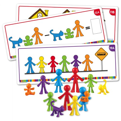 All About Me Family Counters and Cards