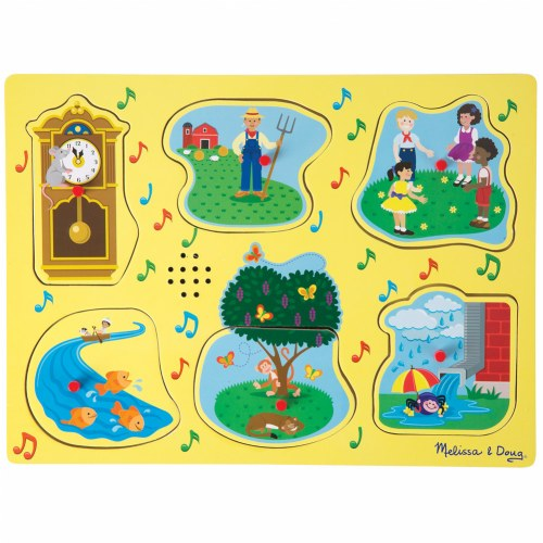 Nursery Rhymes 1 Sound Peg Puzzle