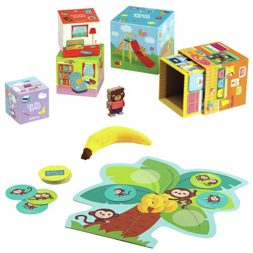 Play, Learn, and Explore Games (2 Games)