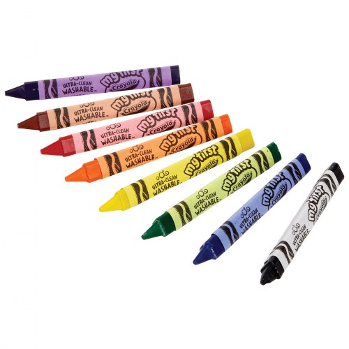 Alternate Image #2 of My First Crayola™ Washable Tripod Grip Crayons