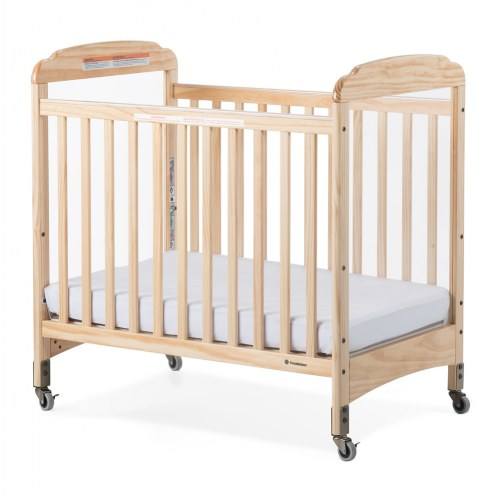 Next Generation Serenity Compact Fixed Side Clearview Crib