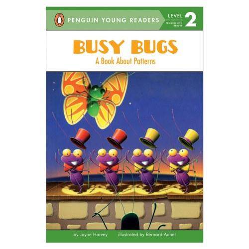 Busy Bugs: A Book About Patterns - Paperback