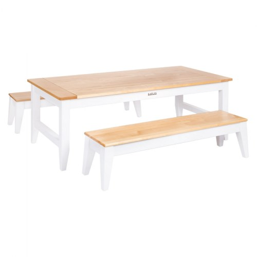 Sense of Place Farmhouse Table and Two Benches