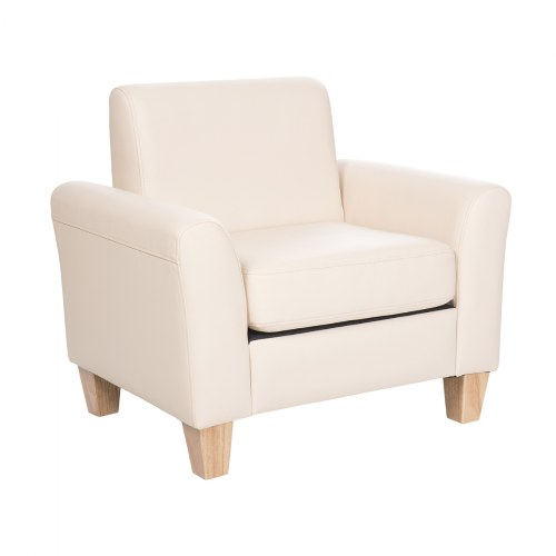 Sense of Place Tan Vinyl Chair