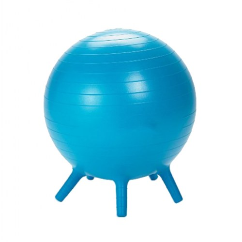 Yoga Ball Chair Blue