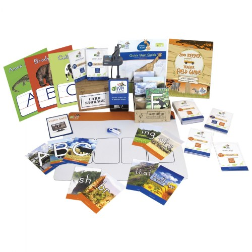 Letters alive® Zoo Keeper Edition