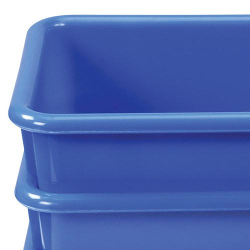 Alternate Image #2 of Vibrant Color Storage Bins - Set of 5
