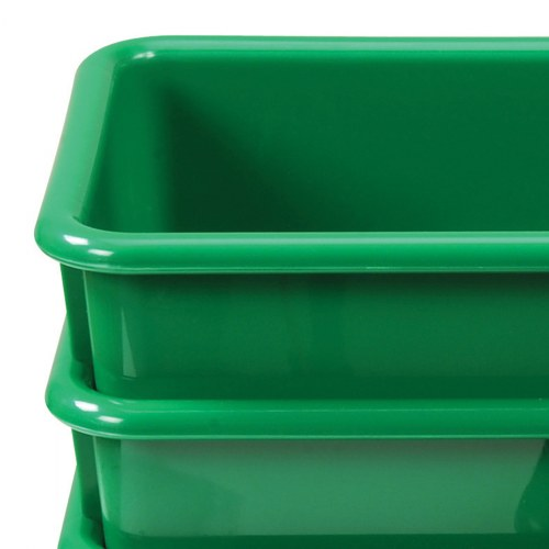 Alternate Image #4 of Vibrant Color Storage Bins - Set of 5