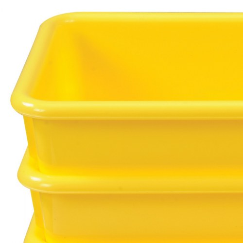 Alternate Image #10 of Vibrant Color Storage Bins - Set of 5