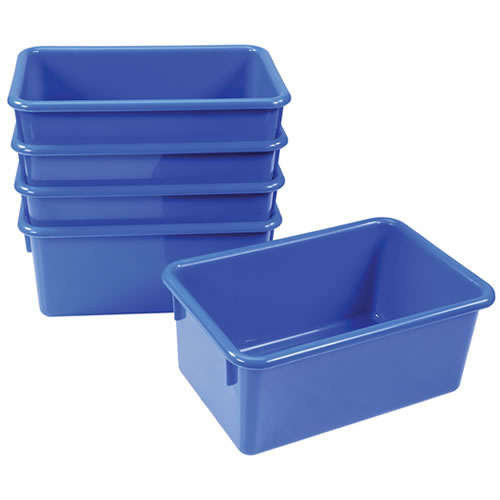 Vibrant Color Storage Bins - Set of 20