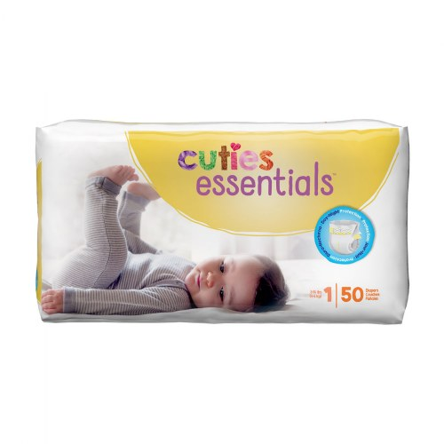 Alternate Image #1 of Cuties Diapers - Available in Sizes 1 through 7