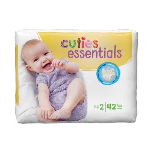 Alternate Image #2 of Cuties Diapers - Available in Sizes 1 through 7