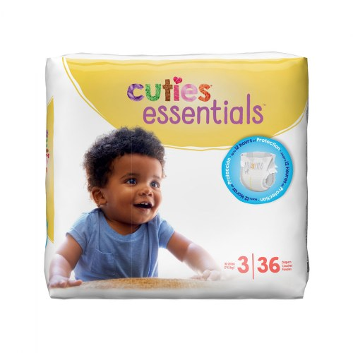 Alternate Image #3 of Cuties Diapers - Available in Sizes 1 through 7