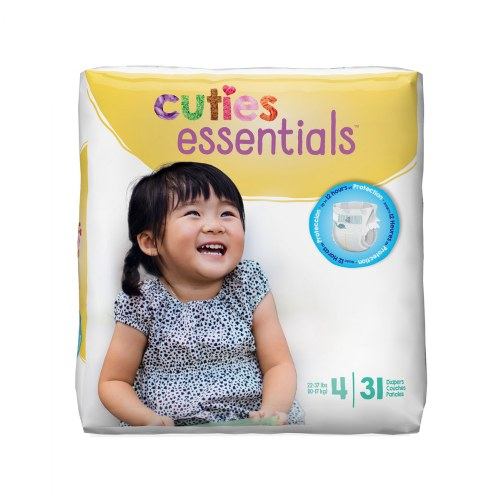 Alternate Image #4 of Cuties Diapers - Available in Sizes 1 through 7