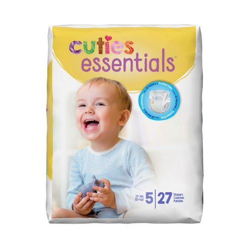 Alternate Image #5 of Cuties Diapers - Available in Sizes 1 through 7