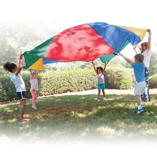 Rainbow Parachutes with Handles
