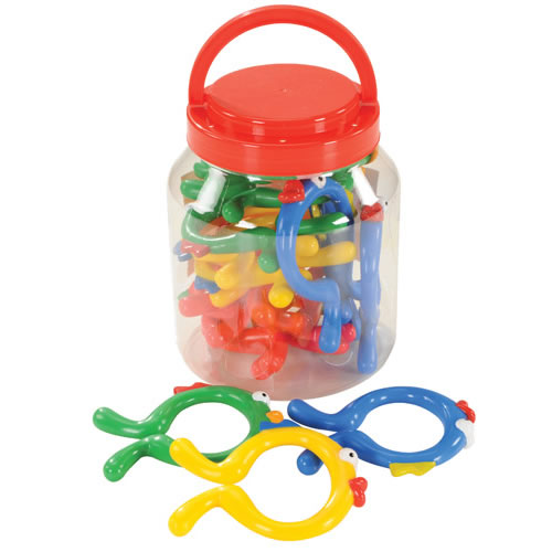 Fishies Plastic Links -16 piece