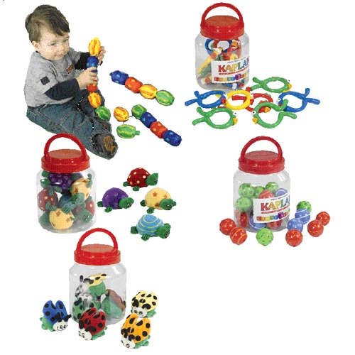 Infant Library Manipulative Jars - Set of 5