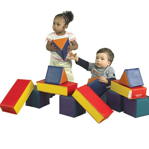 Soft Vinyl Building Blocks Set of 12