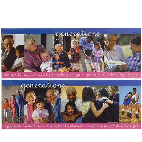 Generations Posters - Set of 2