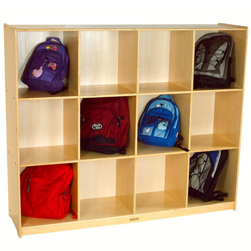 Alternate Image #1 of Carolina Line Backpack / Diaper Bag Storage Cabinet